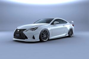 Az új Lexus RC F sportkupét azonnal célba vették a tuningműhelyek