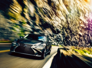 Ősztől Japánban már nem kell sofőr a Lexus LS-be