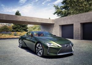 Lexus LC Inspiration: jól áll neki a zöld