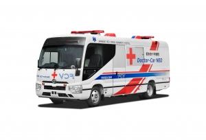 Bemutatta a Toyota a világ első üzemanyagcellás mobil kórházát
