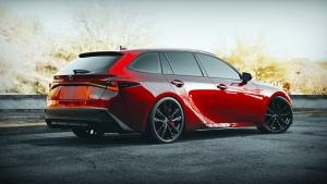 Ha egy Lexus kombi nem lenne elég, itt van azonnal kettő látványterve