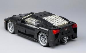 A legmenőbb autós LEGO, amiből csak egyetlen darab létezik