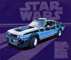 Nincs rá remény, hogy az Egy új remény szereplőivel díszített Star Wars-Toyota megkerüljön