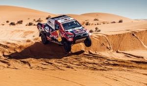 Toyota szakaszgyőzelemmel folytatódott a Dakar hetedik napja