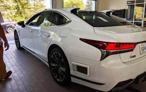 Frissült a Lexus LS modell, a sorozatgyártás kapujában a márka autonóm technológiája