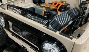 Villanymotorral lehelnek új életet klasszikus Toyota Land Cruiserekbe