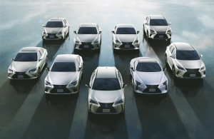 Már kétmillió hibrid Lexus gurul a világ útjain