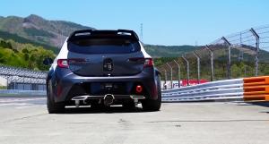Már élőben is hallható a hidrogén üzemű sportmotor hangja, amivel nem más, mint Akio Toyoda fog hamarosan versenyezni