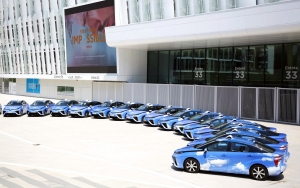 Hidrogén váltja a dízelt a francia taxipiac legnagyobb szereplőjénél