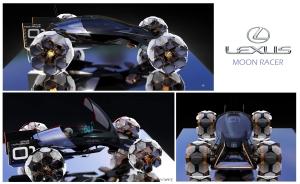 Álombéli holdjárókat tervezett a Lexus
