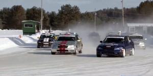Tapadás? Felesleges extra! Ez a Lexus Sport Cup jégverseny.