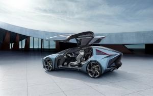 Lexus LF-30 Electrified 540 LE - a Lexus így képzeli az elektromos közlekedés közeli jövőjét