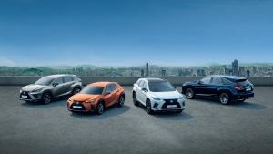 Emlékezetes mérföldkő 2019-ben: félmillió Lexus szabadidőjármű Európában