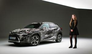 Kihirdették a győztest a Lexus nyilvános autótetováló versenyén