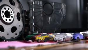 Driftverseny a garázsban