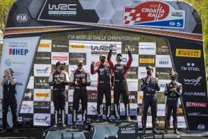 Emlékezetes kettős győzelemmel zárta a Horvát ralit a TOYOTA GAZOO Racing