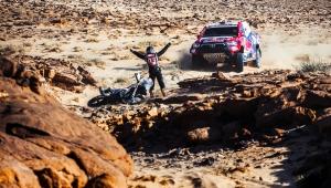 Kettős Toyota-győzelem a Dakar harmadik napján