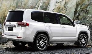 Kémfotókon az új Toyota Land Cruiser