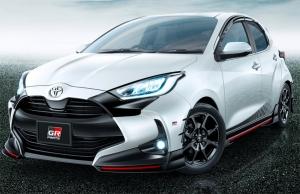 Gyári optikai sportcsomag készült az új Toyota Yarishoz