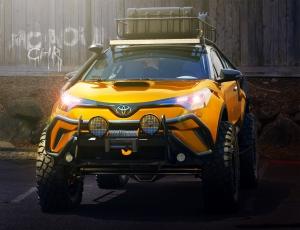 Kőkemény, mégis barátságos a Toyota C-HR alapú kalandterepjáró