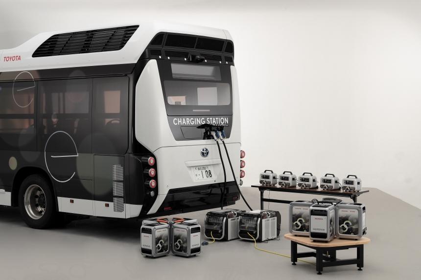 Hidrogén üzemű, mobil óriástöltőt épített a Toyota és a Honda