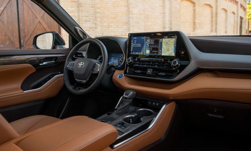 Az új Toyota Highlanderé a világ egyik legjobb utastere