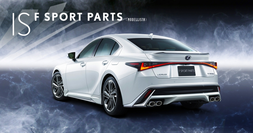 Lexus IS TRD Modellista: gyorstuning japán módra