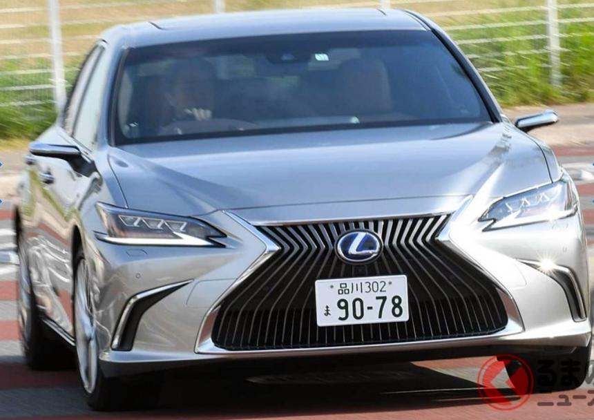 Összkerékhajtást kap a Lexus ES