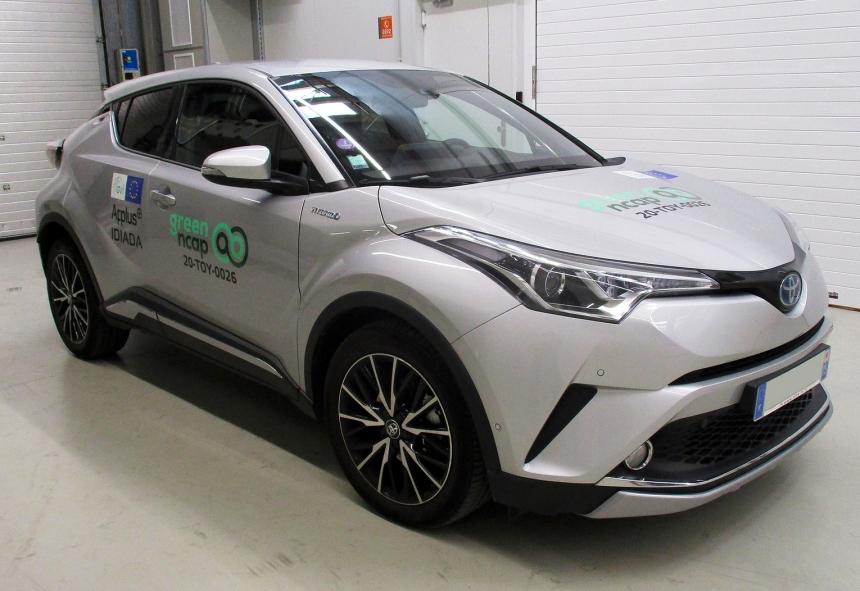 A Toyota C-HR Európa legtisztább nem elektromos személyautója