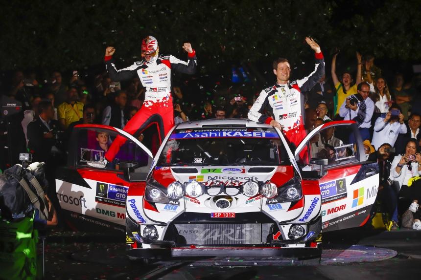 Toyota-diadal a mexikói WRC futamon