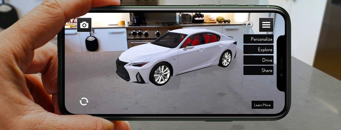 Hogy kerül egy Lexus a nappalinkba?