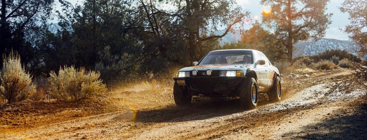 Lexus LS 400-ból épített terepjáró: csak kemény hölgyeknek