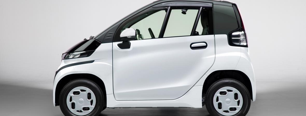 A Toyota bemutatta első teljesen elektromos városi autóját