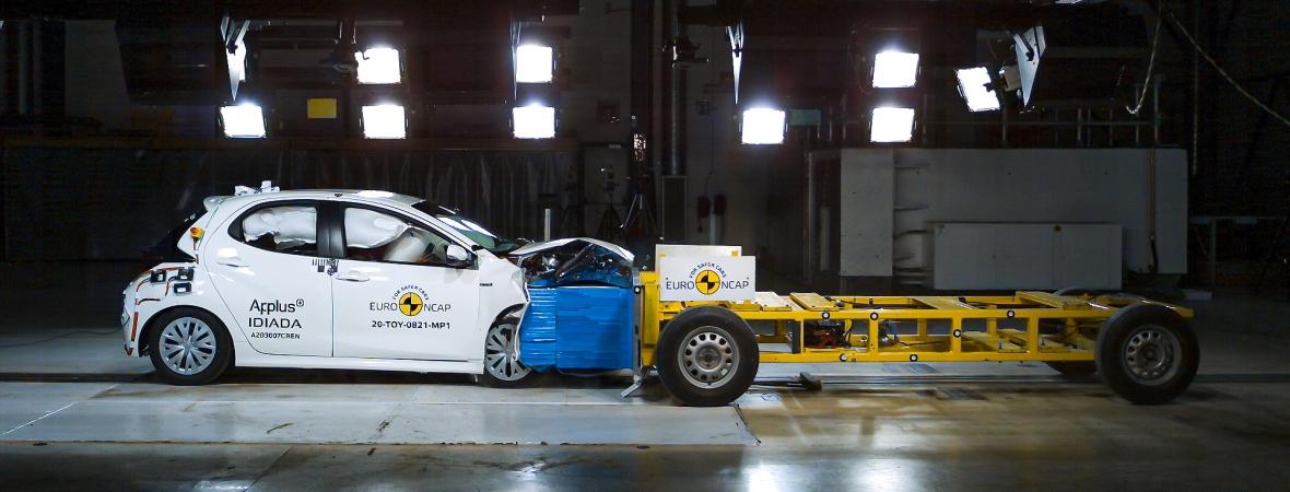 Az új Toyota Yaris jelenleg a világ legbiztonságosabb kisautója
