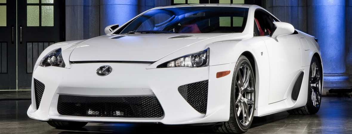 Építsen saját Lexus LFA-t pár óra alatt!