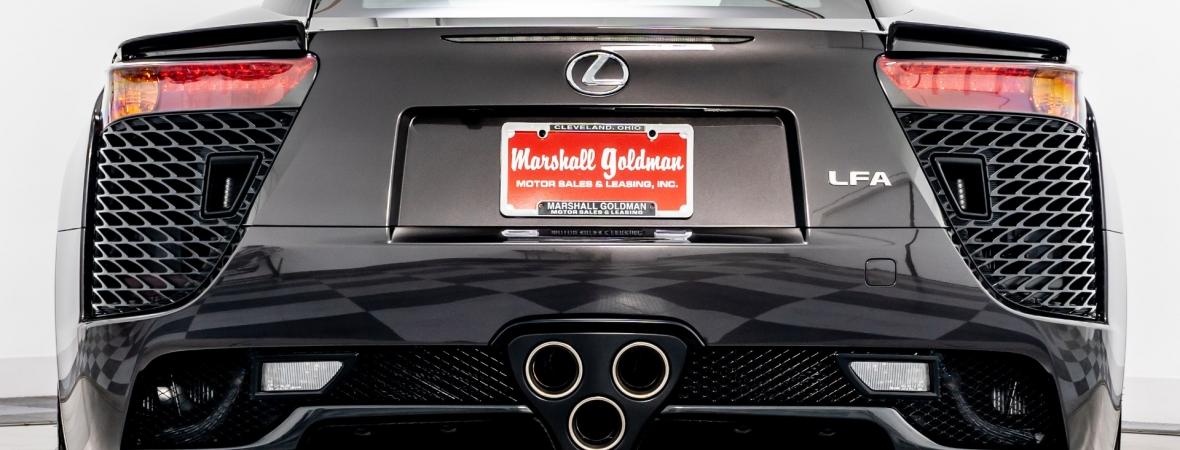 Eladták a világ egyik legkülönlegesebb Lexus LFA-ját, mindössze egyet gyártottak belőle