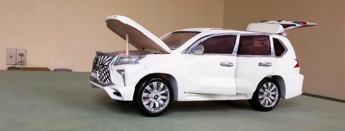Fából vasparipa: így készül a faragott Toyota Land Cruiser és Lexus LX